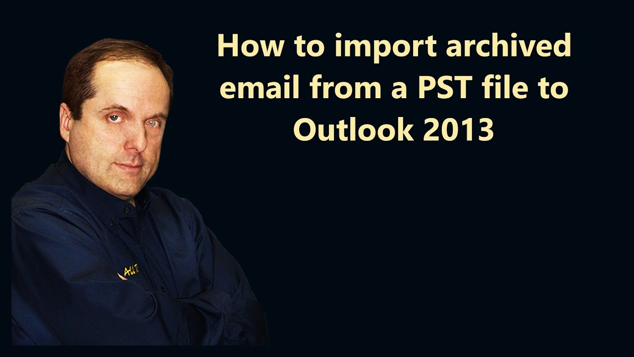 How to Import Archived Outlook Email Into Gmail Using GML picture