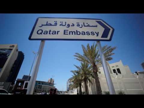News Update Qatar row: Saudi and Egypt among countries to cut Doha links 05/06/17