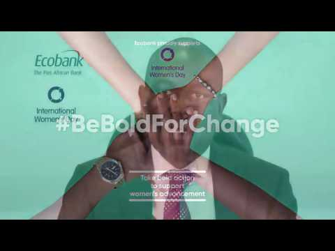Ecobank  GCEO Ade Ayeyemi Pledges to #beBoldForChange. For women across # Africa .