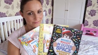 KIDS BOREDOM BUSTERS, WHERE'S WALLY ACTIVITY BOOKS REVIEW! AD