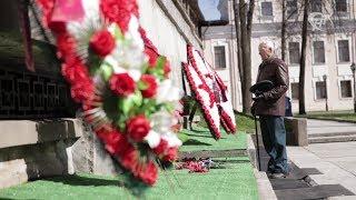 С Днём Победы поздравляют ветераны Великой Отечественной войны и люди послевоенных поколений