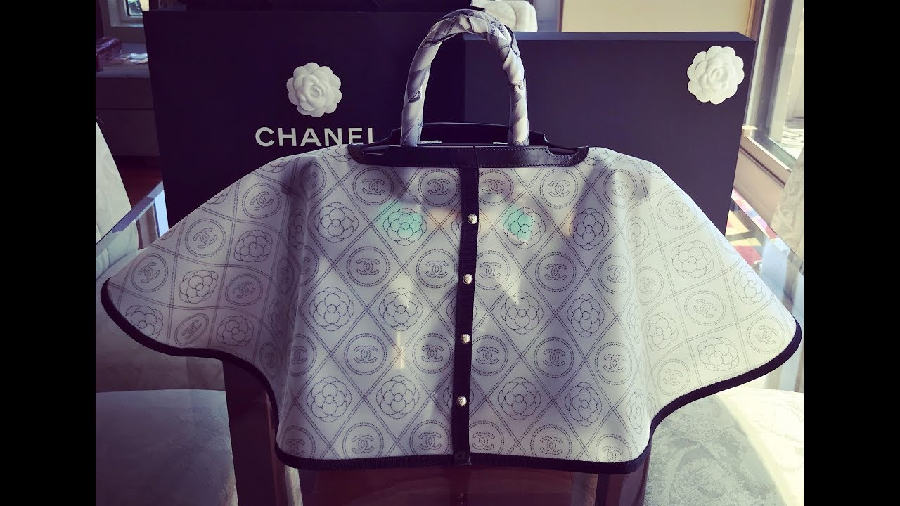 eefe1f18a289 A Look at the NEW Chanel Raincoat for BAGS!!!