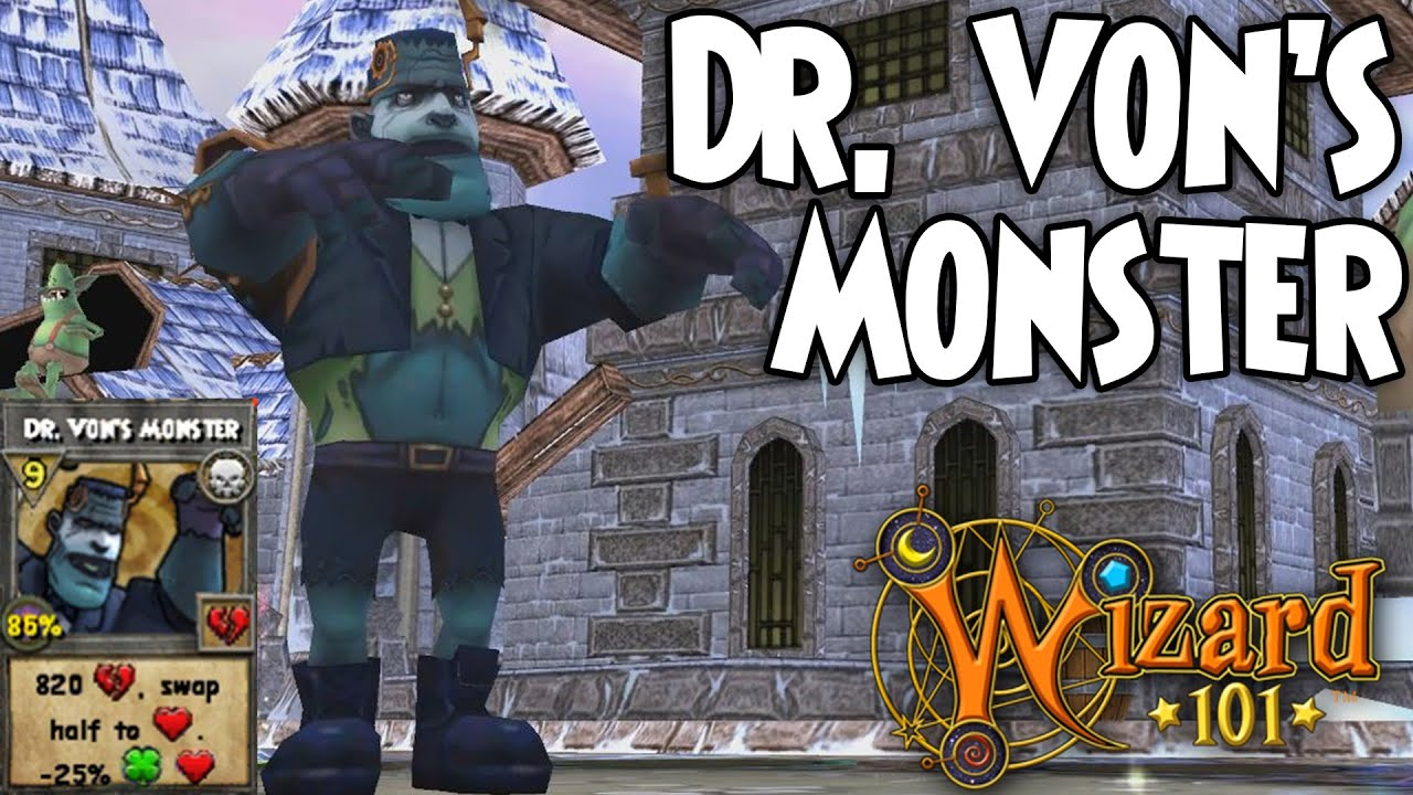 Wizard101 Dr Vons Monster Keyword Data Related Wizard101 Dr Vons