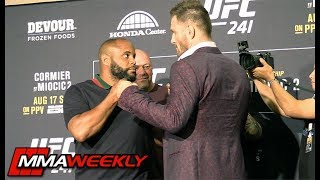 UFC 241 Faceoffs: Daniel Cormier vs Stipe Miocic