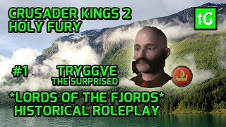 The PRICE of GLORY! Crusader Kings 2 Holy Fury Roleplay THE LORDS OF THE FJORDS Gameplay PC #1