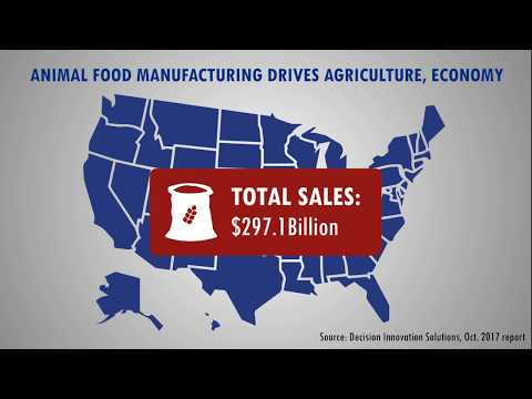 Animal Food Manufacturing Drives Agriculture, Economy