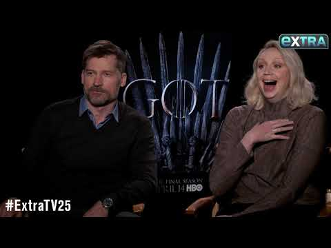 'I Cried for 2 Hours': Gwendoline Christie & Nikolaj Coster-