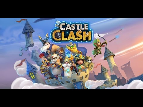 Castle Clash: Leveling To The Max!!!