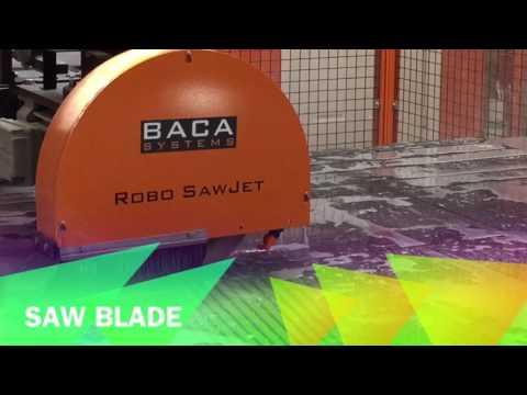 BACA ROBO SAWJET AT INNOVATE STONES