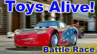 Cars 2: The video game ☆ Daredevil Lightning McQueen ☆ Battle Race on Hyde Tour