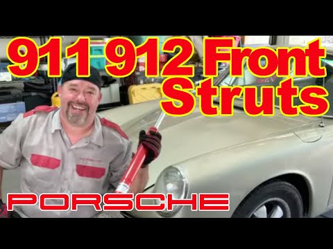 Porsche 911 912 Front Strut Replacement DIY Project | Classic Porsche 911 912 Boge Longhood