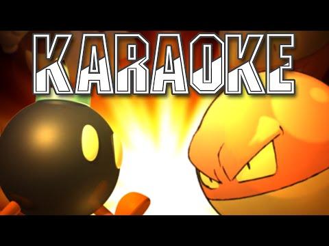 [♫ KARAOKE ♫] Voltorb vs Bob Omb - Rap Battle