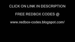 REDBOX CODES = FREE DVD RENTALS