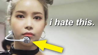 mamamoo using headset mics for the first time