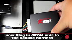 Installation of GROM USB Android iPhone Bluetooth Car Kit Into BMW Z4 2003-2008 (trunk)