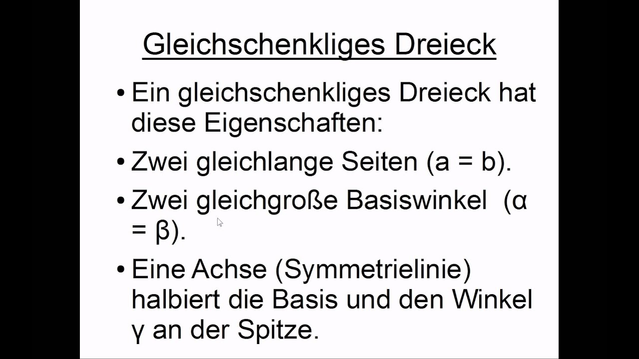 Schön Dreieck Eigenschaften Arbeitsblatt Bilder - Super Lehrer ...