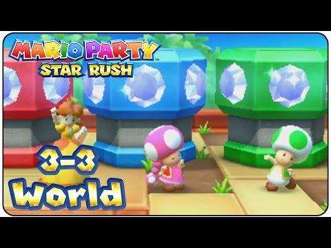 Mario Party Star Rush - Walkthrough Part 12 (Toad Scramble Level 3-3)