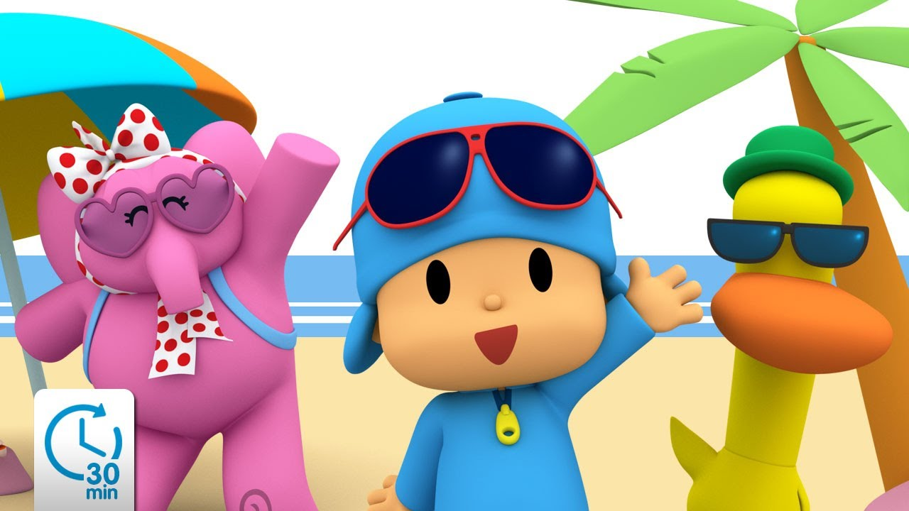 Pocoyo estate 😎 minuti con pocoyo cartoni animati