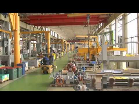 Caterpillar Marine Engine Manufacturing Facility in Kiel, Germany