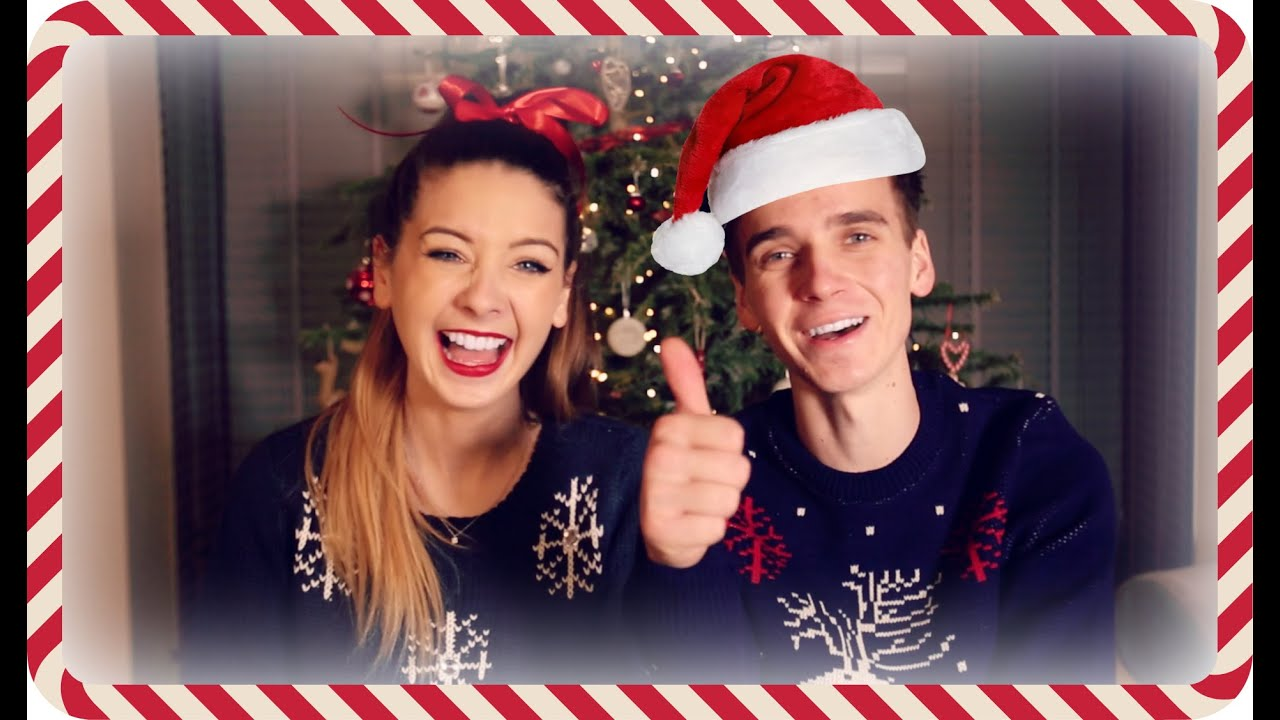 The Annual Christmas Sugg Special | Zoella - YouTube