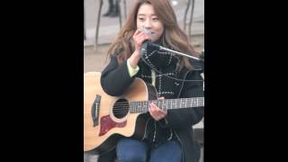 2015.02.22 씨엘씨.CLC (Crystal Clear).장승연.Rolling In The Deep (Adele).홍대놀이터