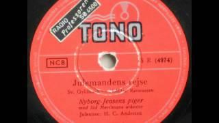 Julemandens rejse - Nyborg Jensens piger; H.C. Andersen 1954