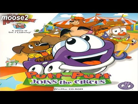 Putt-Putt Joins the Circus (The Honko Stream) - brutalmoose stream archive