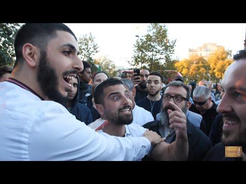 P1 - Nice Shot!? Ali Dawah Vs Jewish Visitor Avi Yemeni | Speakers Corner | Hyde Park
