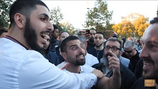 P1 - Nice Shot!? Ali Dawah Vs Jewish Visitor Avi Yemeni | Speakers Corner | Hyde Park