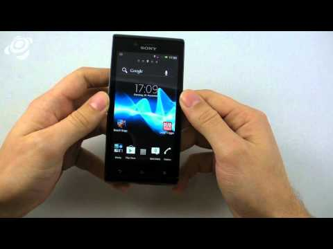 Sony Xperia J im Hands-On