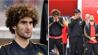 Breaking News-Marouane Fellaini Is Officially The Best Striker In Belgium's World Cup Squad