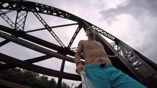 Severn Rail Bridge Jump filed with GOPRO Hero 4