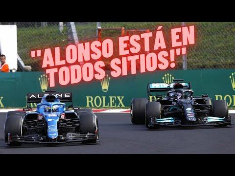 Las MEJORES RADIOS del FIN DE SEMANA en ESPAÑOL || GP HUNGRÍA F1 2021 🏁