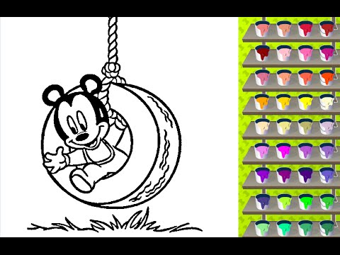 Mickey Coloring Pages Free Online Coloring Games YouTube