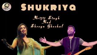 Arijit Singh | Shreya Ghoshal | Shukriya | Sadak 2 | Mix Version | Full Song | 2020 | HD