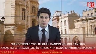 """""""Bandotdelə təslim olan bankiri nə gözləyir?"""", """"Zorlayan şəxsin arxasında hansı məmurlar dayanir?"""""""
