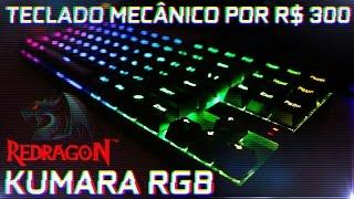 Eu achei um teclado honesto « KUMARA » RGB Switches Outemu Blue K552