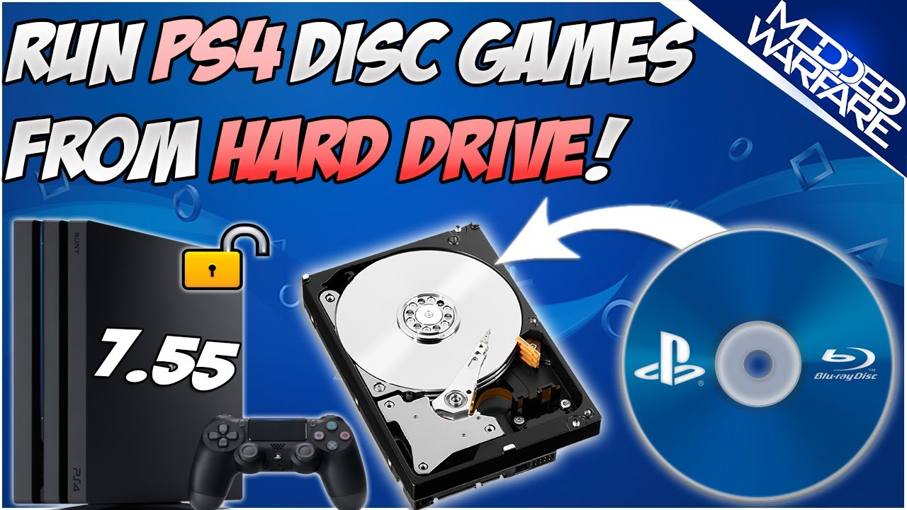 (EP 6) Run PS4 Disc Games without the Disc | Retail to fpkg (7.55 or Lower!)