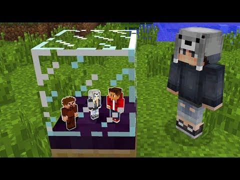 ARKADAŞIMI CAMIN İÇİNE KİTLEDİM! 😱 - Minecraft