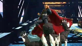 Superman versus doomsday stop motion