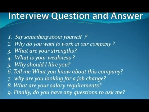 top 9 interview question and answer - Do You Have Any Questions For Me Interview Question And Answers