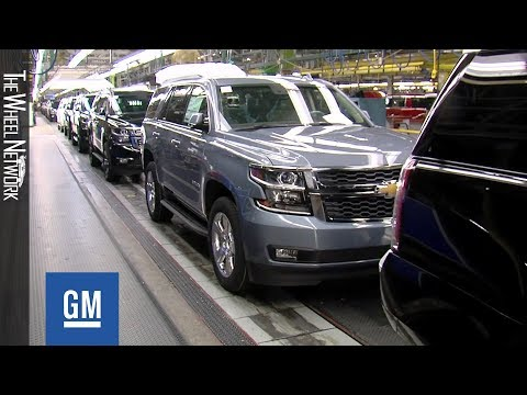 GM Arlington Assembly Plant In Texas – Chevrolet Tahoe And Suburban Production