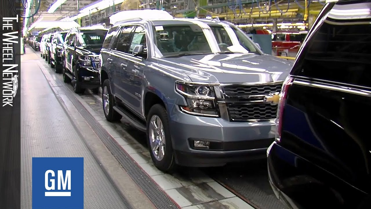 Download GM Arlington Assembly Plant in Texas – Chevrolet Tahoe and Suburban Production