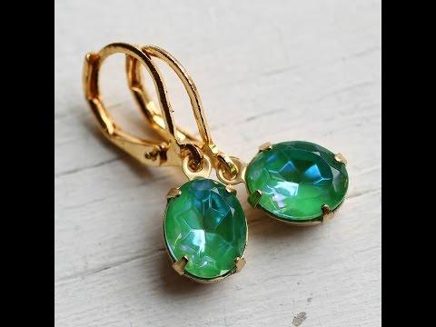 Latest Model Stone Earrings Models || Gold Stone Hoop Earrings || Earring Designs