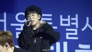160905 서울 전국기능경기대회 개막식 축하공연 - 블락비