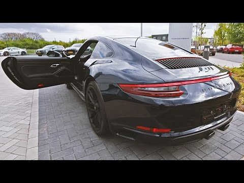 The NEW Porsche 911 GTS 2017 Start-Up at the BorderRun Hill-To-Hill