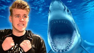 ATTACKED BY A SHARK! (FISHING IN VR)