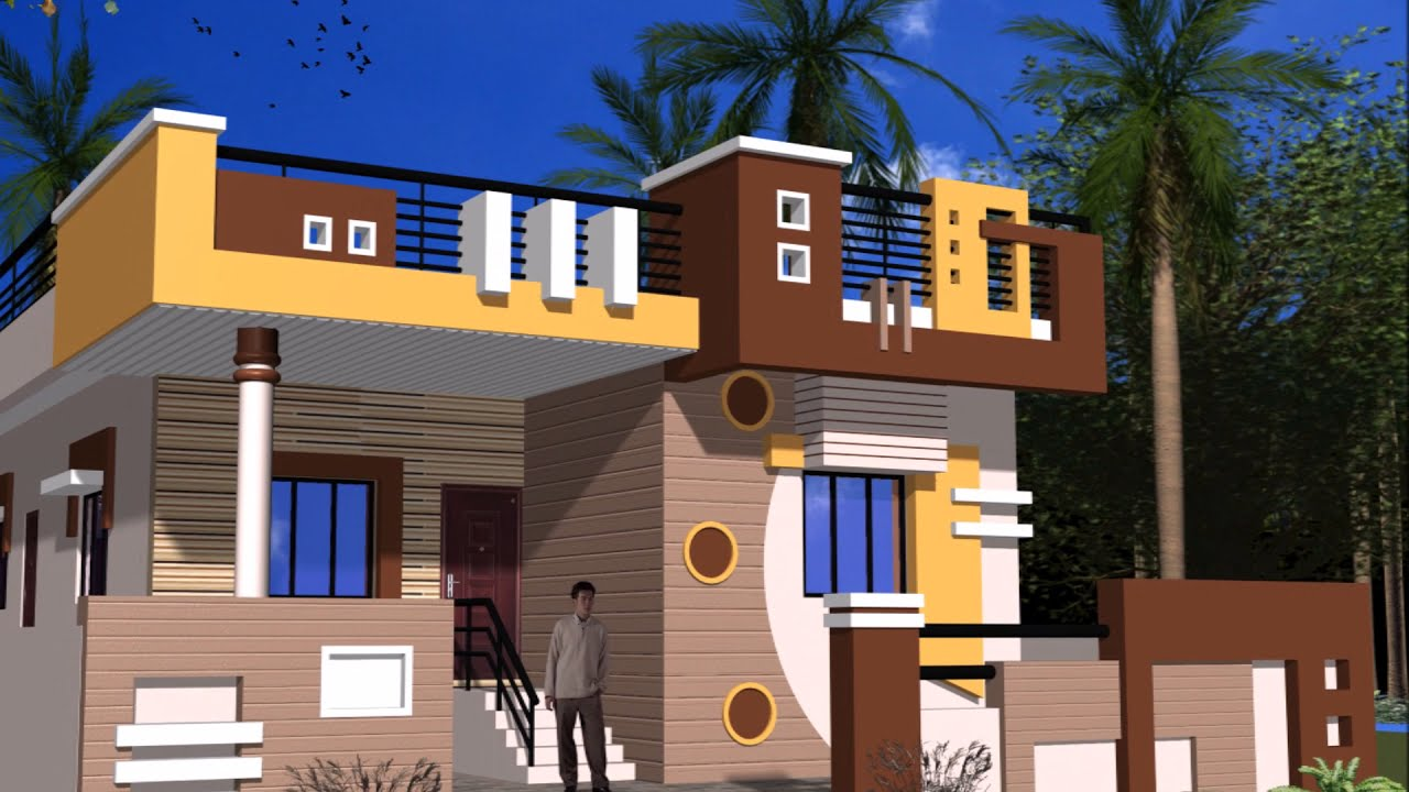 Single Floor Elevation Colours : Best single story home elevations youtube