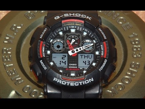 Часы Casio G-shock Ga-100 Инструкция - фото 2