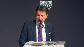 Il Presidente Conte allo Snam Partners' Day 2018